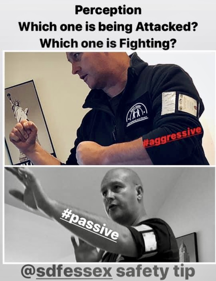 self defence personal safety