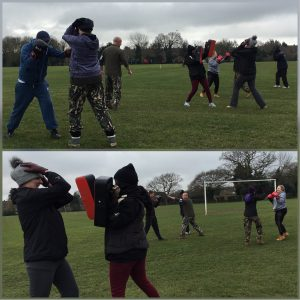 Beginners Self Defence class with SDF Essex
